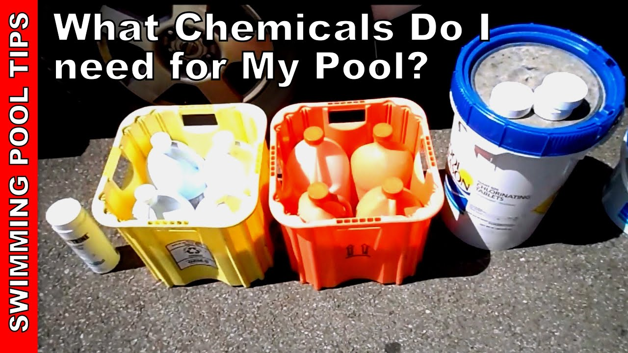 What Chemicals Do I Need For My Pool Basic Overview Youtube