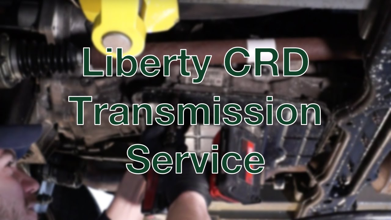 Liberty Crd Transmission Service Youtube 2009 Jeep Fuel Filter
