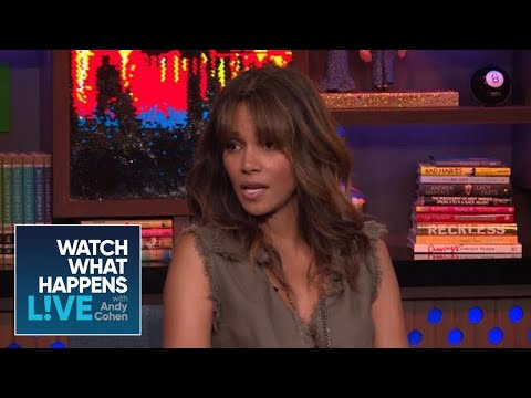 Halle Berry Gets Real About The Adrien Brody Kiss  WWHL