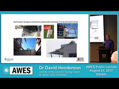 AWES Public Lecture - Darwin 2017 (David Henderson)