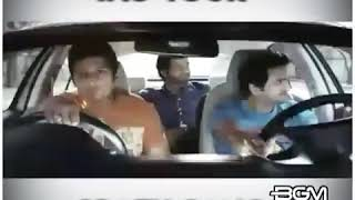 Telugu movie comedy scene on road