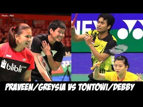 Exhibition Match : Praveen Jordan/Greysia Polii vs Tontowi Ahmad/Debby Susanto