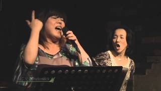 Japanese female singers group Nekomaji performes in Tokyo.Telemack'...