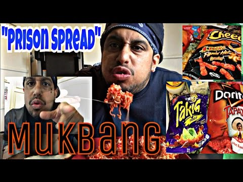 Gangster eating flamin hot cheetos/takis noodles mukbang/eat