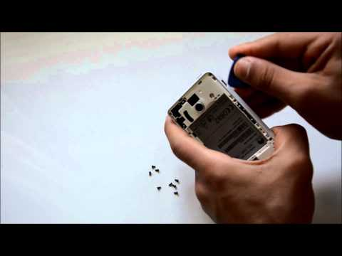 Huawei Y300 Disassembly / Αποσυναρμολόγηση