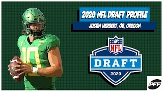Justin Herbert: 2020 NFL Draft Profile | PFF