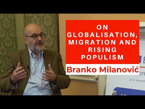 Branko Milanovic On Globalisation, Migration, Rising Inequality And Populism
