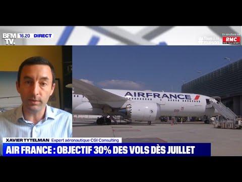 Reprise de 30% des vols pour le mois de juillet: est-ce crédible ?