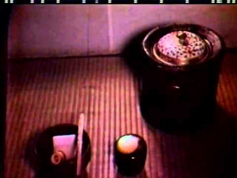 Japanese Tea Ceremony (vintage color film)