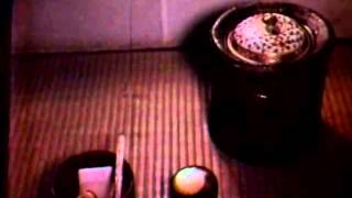Japanese Tea Ceremony (vintage color film)