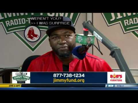 Jimmy Fund: David Ortiz
