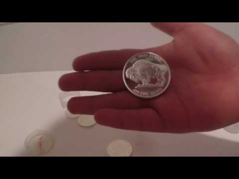 Philharmonics and Buffalo Silver coins