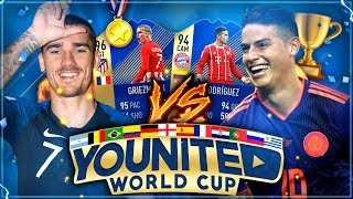 FIFA 18: YOUnited WORLD CUP Gruppenspiel #1 vs NoHandGaming 🇨🇴🇫🇷