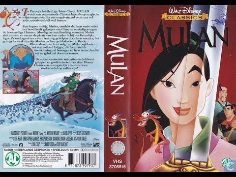 Opening To Mulan 1999 Vhs Netherlands Youtube