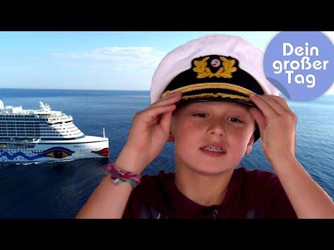 Das Leben als Kapitän - Joah auf dem Kreuzfahrtschiff | Dein großer Tag | SWR Kindernetz