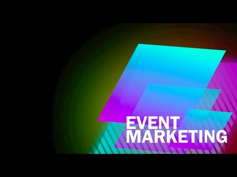 Session 5.  An event marketing plan