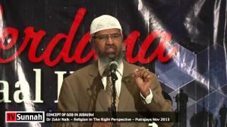 Concept of God in Judaism - Dr Zakir Naik