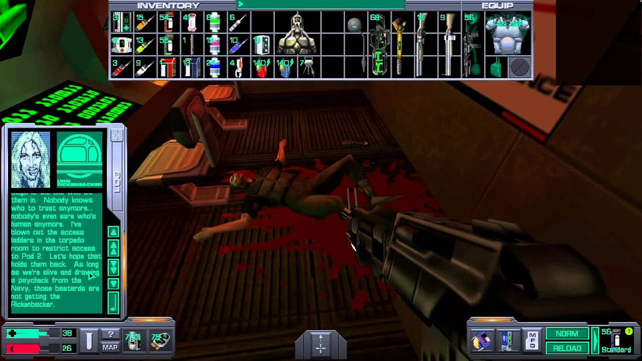 System Shock 2 - Gameplay [GOG version]
