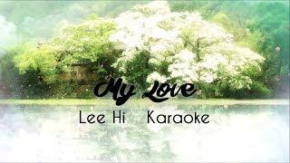Lee Hi | My Love | Karaoke | Scarlet Heart: Ryeo OST