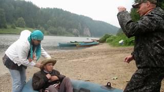 Сплав по Чусовой(Это видео создано в редакторе слайд-шоу YouTube: http://www.youtube.com/upload., 2014-09-06T09:45:28.000Z)
