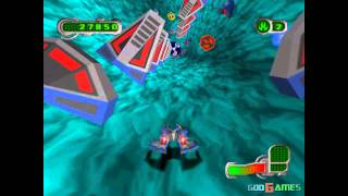 NanoTek Warrior - Gameplay PSX / PS1 / PS One / HD 720P (Epsxe)