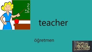 İngilizce Meslekler ve Okunuşları
