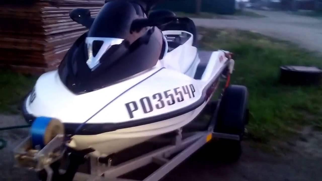 Гидроцикл BRP GTX с двс ваз 21124 - YouTube