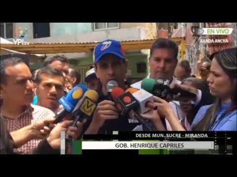 Capriles #LOMÁSVISTOVPITV