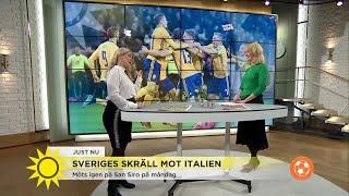 """Efter Sveriges skräll mot Italien: """"Bara 25 procent av italienarna tror att Italien går vidare till"""