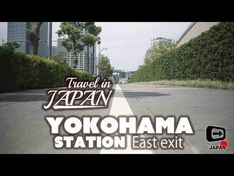 Travel in Japan | Yokohama Station East exit | Way to Minatomirai
