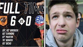 MAULED BY THE TIGERS - Hull City vs Bolton Vlog