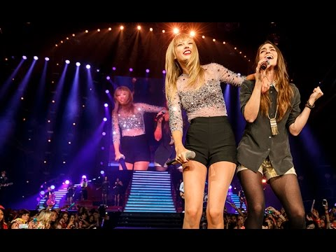 Taylor Swift Ft. Sara Bareilles - Brave (DVD The RED Tour) Bônus