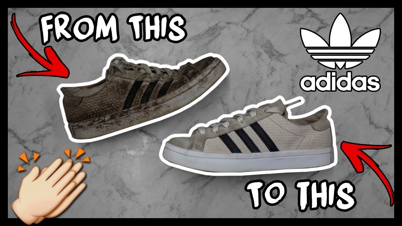 on sale 523da 7e951 CLEANING FILTHY SUEDE ADIDAS SUPERSTARS TO LOOK NEW AGAIN!