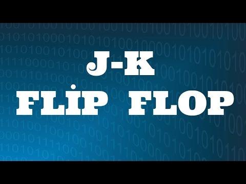 SAYISAL ELEKTRONİK DERSLERİ: JK Flip Flop