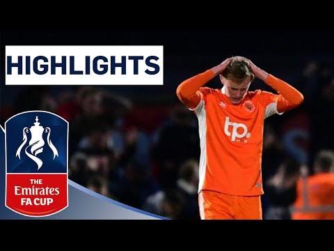 Non-league Boreham Wood Shock Blackpool | Boreham Wood 2-1 Blackpool | Highlights | Emirates FA Cup