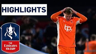 Non-league Boreham Wood Shock Blackpool | Boreham Wood 2-1 Blackpool | Highlights | Emirates FA Cup