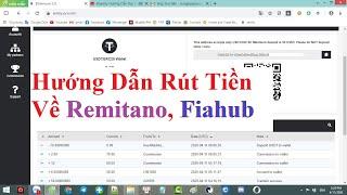 #Senity Hướng Dẫn Rút Tiền Sàn Senity Về Remitano, Fiahub Về Ngân Hàng Vietcombank