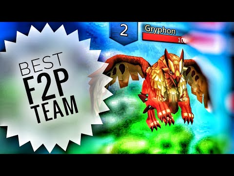 Lords Mobile - Best F2P Gryphon Monster Hunting Team