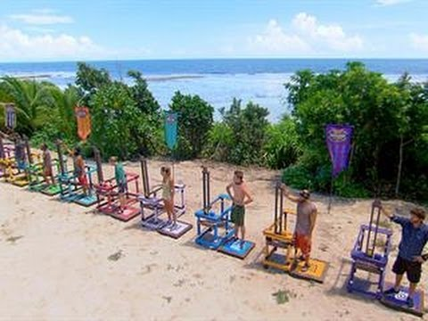 Survivor: Cagayan - Immunity Challenge: Living Color