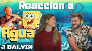 AGUA - J BALVIN REACCIÓN | Ana y Milo