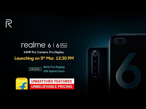 Realme 6 Pro Review Of Full Specifications, Price, Blind Order Details W/ Realme 6   Realme 6 Series