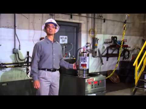 Extintor para cocinas industriales y freidoras   ansul k guard ...