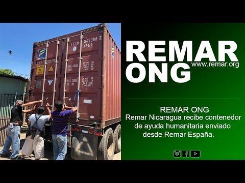 REMAR ONG -  Remar Nicaragua recibe contenedor de ayuda humanitaria enviado desde Remar España.