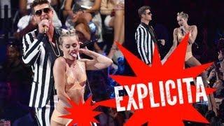 Repeat youtube video ¡Rihanna, 1D Reaccionan a Miley Cyrus en Los VMAs 2013!