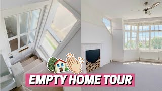 I BOUGHT MY FIRST HOME - EMPTY TOUR 🏡