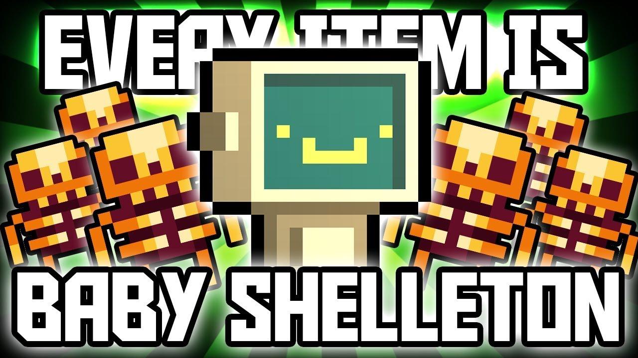 Every Item is BABY GOOD SHELLETON - Enter the Gungeon Custom Challenge