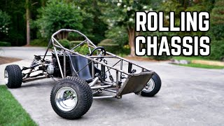 ROLLING CHASSIS! | 750cc Cross Kart Pt. 11