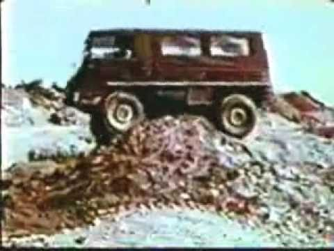 Early Pinzgauer promotional video (1970