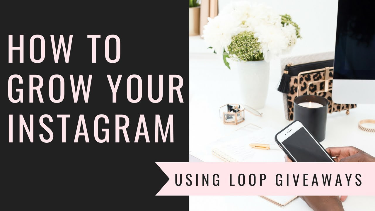 how to gain followers and emails in a giveaway instagram