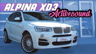 Alpina XD3 auf Basis BMW X3 F25 V8 BiTurbo Motorsound Active Auspuff Sound TV Tuner NBT SCHAWE